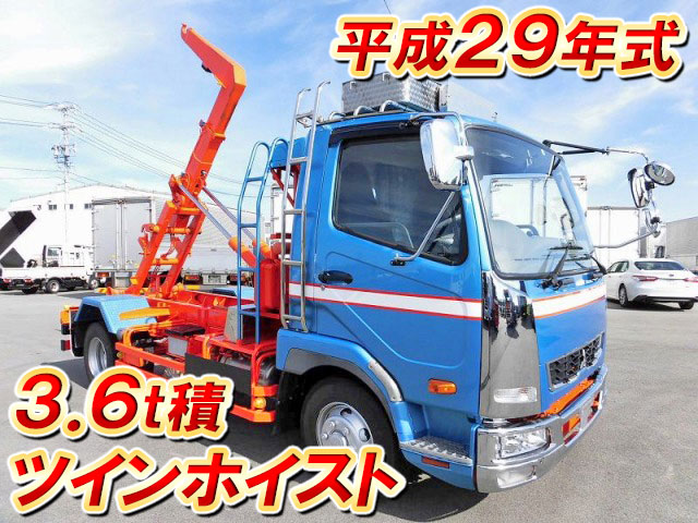 MITSUBISHI FUSO Fighter Container Carrier Truck TKG-FK71F 2017 38,000km_1