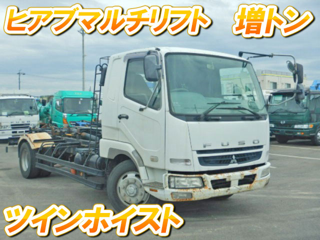 MITSUBISHI FUSO Fighter Container Carrier Truck PJ-FK62FZ 2006 291,645km_1