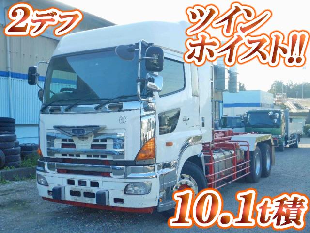 HINO Profia Container Carrier Truck LDG-FS1ERBA 2010 868,929km_1