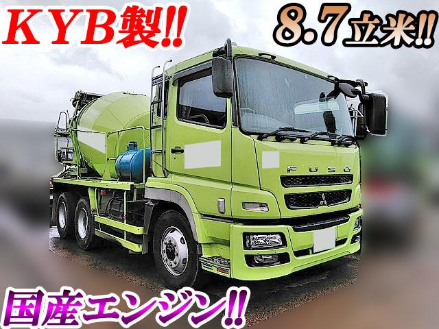 MITSUBISHI FUSO Super Great Mixer Truck BDG-FV50JX 2009 112,136km_1