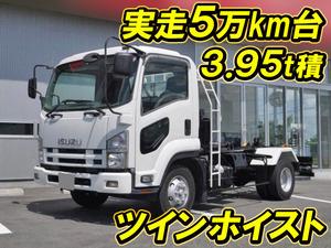 ISUZU Forward Container Carrier Truck PKG-FRR90S1 2009 54,223km_1
