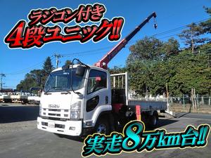ISUZU Forward Truck (With 4 Steps Of Unic Cranes) FRR90S1 2013 81,143km_1