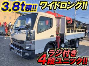 MITSUBISHI FUSO Canter Truck (With 4 Steps Of Unic Cranes) SKG-FEB90 2012 120,272km_1