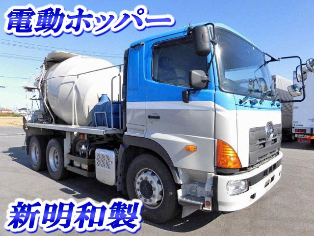 HINO Profia Mixer Truck QKG-FS1AKAA 2013 217,000km_1