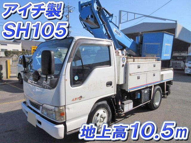 ISUZU Elf Cherry Picker KR-NKR81EP 2004 158,000km_1