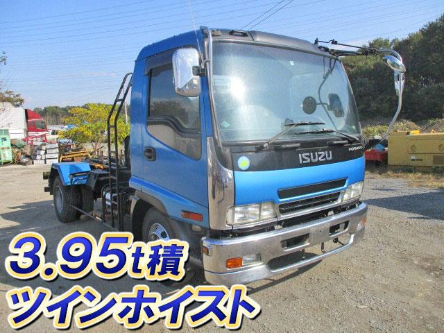 ISUZU Forward Container Carrier Truck PB-FRR35E3S 2007 377,000km_1