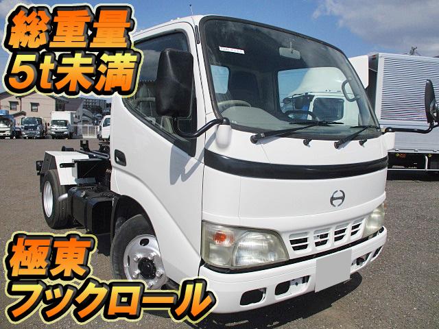 HINO Dutro Hook Roll Truck PB-XZU301M 2006 104,685km_1