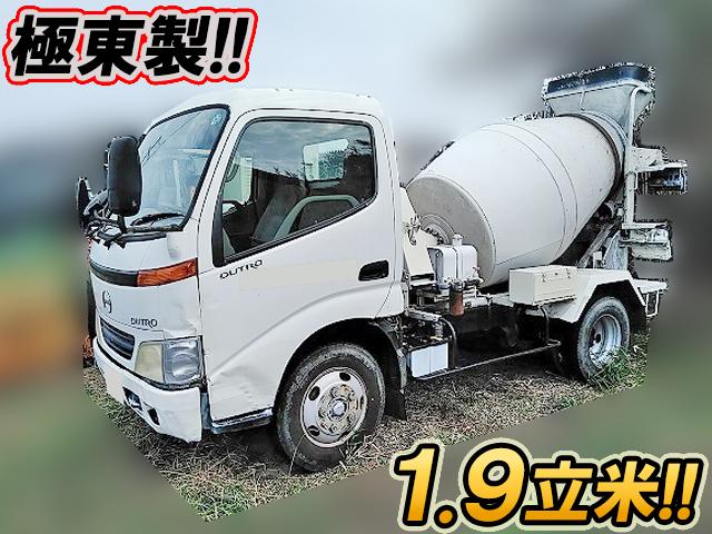 HINO Dutro Mixer Truck KK-XZU301X 1999 70,732km_1