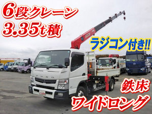 MITSUBISHI FUSO Canter Truck (With 6 Steps Of Cranes) TKG-FEB90 2014 240,500km_1