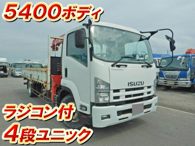 ISUZU Forward Truck (With 4 Steps Of Cranes) SKG-FRR90S1 2012 _1