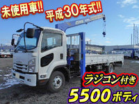 ISUZU Forward Self Loader (With 4 Steps Of Cranes) TKG-FRR90S2 2018 879km_1