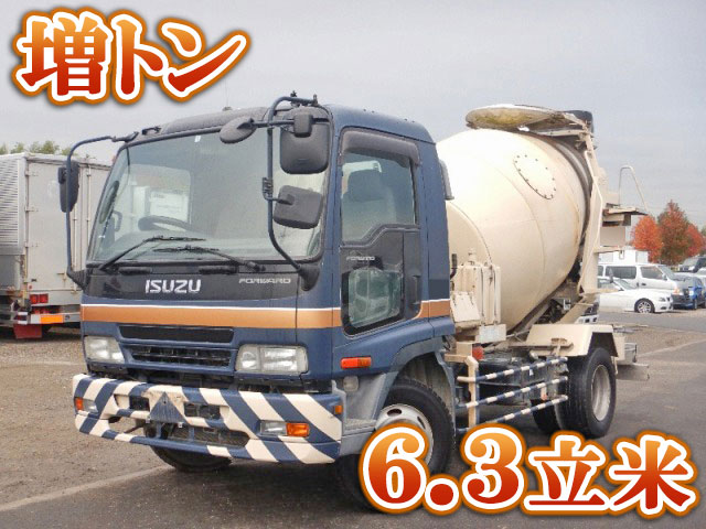ISUZU Forward Mixer Truck PJ-FSR34D4S 2006 158,433km_1