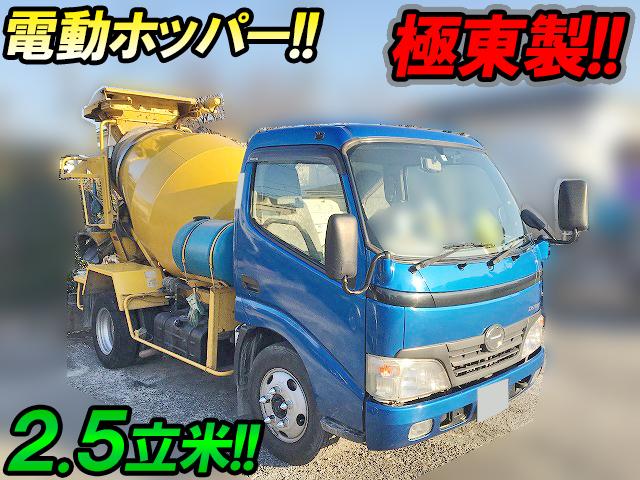 HINO Dutro Mixer Truck BDG-XZU304E 2009 129,429km_1