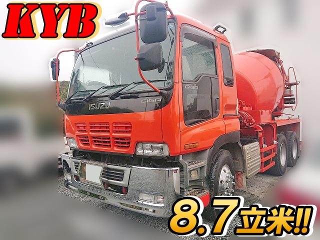 ISUZU Giga Mixer Truck KL-CXZ51K4 2005 193,371km_1