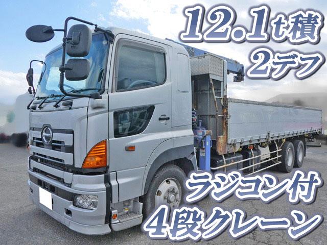 HINO Profia Truck (With 4 Steps Of Cranes) BDG-FS1EWYA 2007 728,933km_1