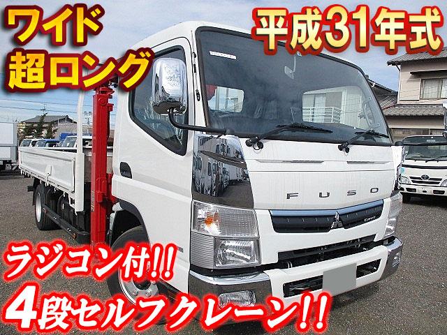 MITSUBISHI FUSO Canter Self Loader (With 4 Steps Of Cranes) TPG-FEB80 2019 929km_1