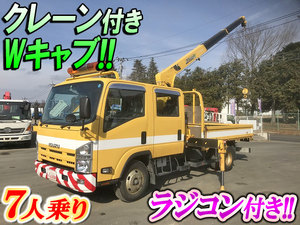 Elf Double Cab (with crane)_1