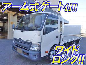 HINO Dutro Flat Body (With Power Gate) TKG-XZU710M 2014 -_1