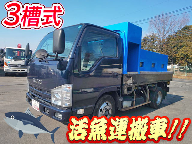 ISUZU Elf Live Fish Carrier Truck SKG-NKR85A 2012 261,814km_1