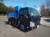 ISUZU Elf Live Fish Carrier Truck SKG-NKR85A 2012 261,814km_3