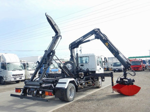 Forward Container Carrier Truck with Hiab_2