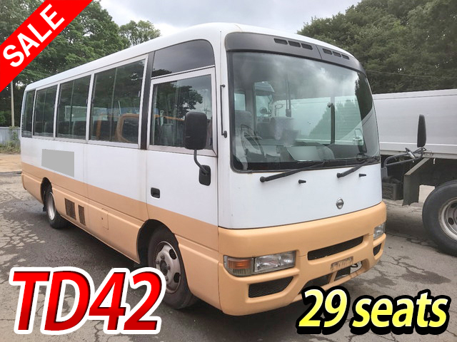 NISSAN Civilian Micro Bus KK-BHW41 2003 85,393km_1