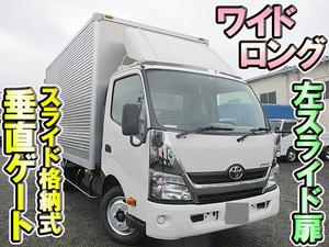 TOYOTA Dyna Aluminum Van TKG-XZU710 2017 79,100km_1