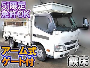 TOYOTA Dyna Flat Body TKG-XZC605 2013 74,950km_1