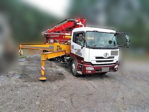 Quon Concrete Pumping Truck_2