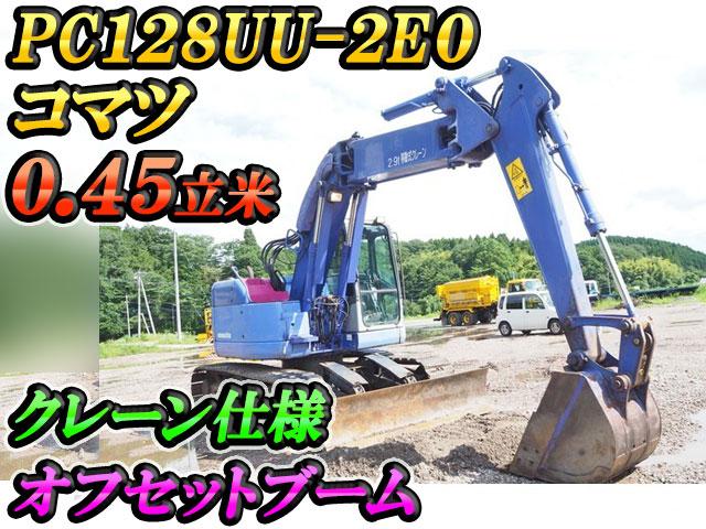 KOMATSU  Excavator PC128UU-2E0 2006 2,320h_1