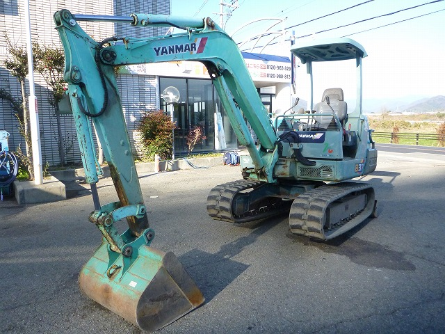 Japanese Used YANMAR Excavator B37-2A 1995 for Sale