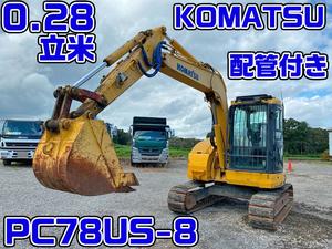 KOMATSU  Excavator PC78US-8 2014 3,303h_1