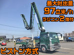 Super Great Concrete Pumping Truck