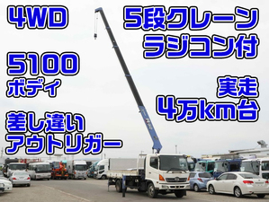 Ranger Truck (With 5 Steps Of Cranes)_1