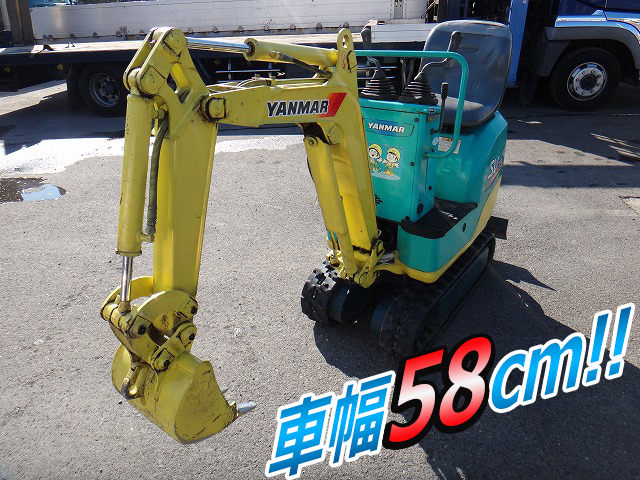 YANMAR  Mini Excavator SV05 2004 1,035h_1