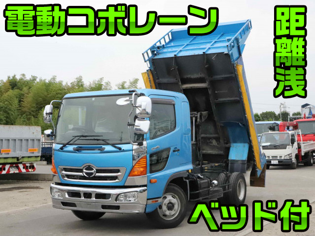 HINO Ranger Dump TKG-FD7JDAA 2014 58,862km_1