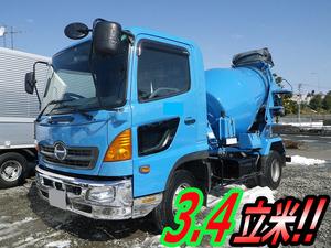 HINO Ranger Mixer Truck KK-FC1JCEA 2002 186,983km_1