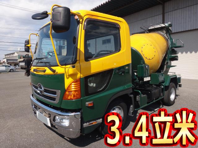 HINO Ranger Mixer Truck KK-FC3JCEA 2003 118,028km_1