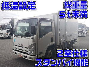 ISUZU Elf Refrigerator & Freezer Truck TKG-NLR85N 2012 121,185km_1