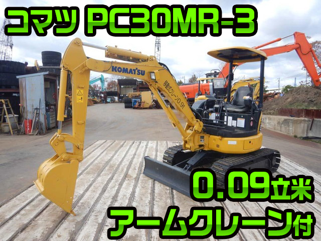 KOMATSU Others Mini Excavator PC30MR-3 2013 2,328h_1