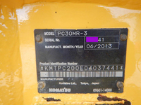 KOMATSU Others Mini Excavator PC30MR-3 2013 2,328h_39