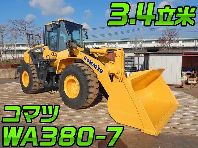 KOMATSU Others Wheel Loader WA380-7 2015 6,607h_1