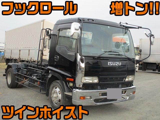 ISUZU Forward Container Carrier Truck PA-FSR34G4SZ 2006 528,000km_1