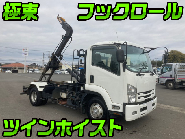 ISUZU Forward Hook Roll Truck TKG-FRR90S2 2015 117,000km_1