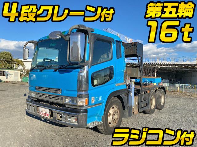 MITSUBISHI FUSO Super Great Trailer Head KL-FV50LHR (KAI) 2002 646,939km_1
