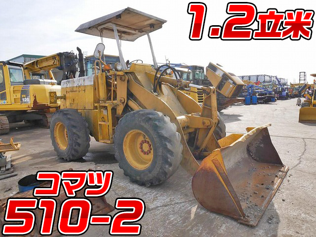 KOMATSU Others Wheel Loader 510-2 1980 7,546h_1