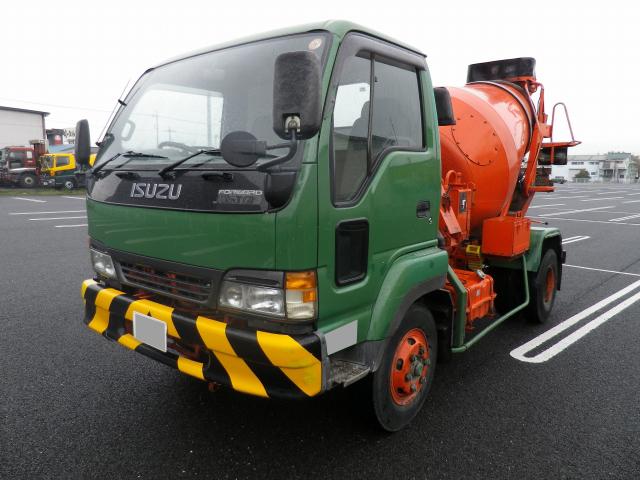 ISUZU Forward Juston Mixer Truck KK-NRR35C4 2000 213,666km_1
