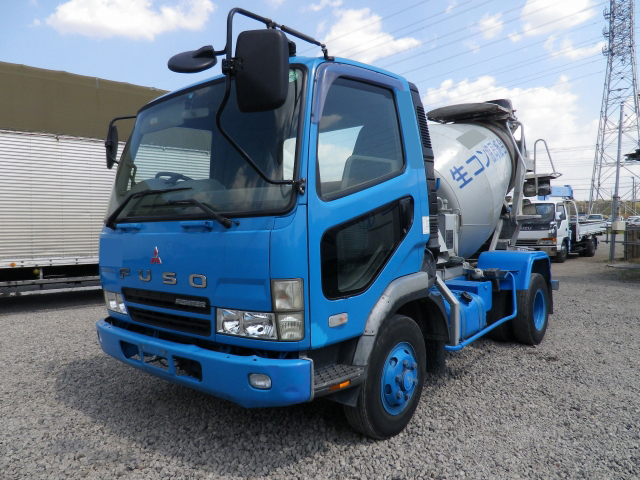 MITSUBISHI FUSO Fighter Mixer Truck KK-FK71HC 2004 114,347km_1