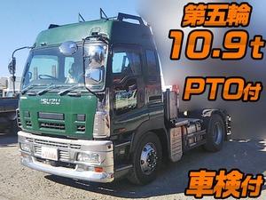 ISUZU Giga Trailer Head PDG-EXD52D8 2008 433,211km_1