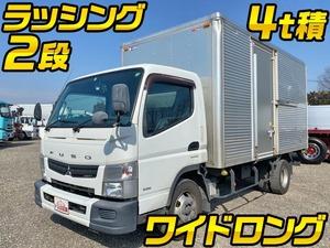 MITSUBISHI FUSO Canter Aluminum Van TKG-FEB90 2015 248,356km_1